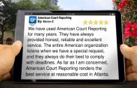 Atlanta Court Reporters – 404-892-1331 – Call Us Today