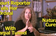 Carpal Tunnel | Court Reporter Shares Natural Stretches Treatment