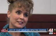 Court reporter shortage impacts trials, hearings