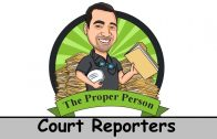 Legal Nuts And Bolts: Court Reporters