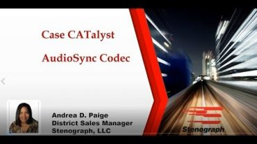 Steno Savvy: Improve audio quality in Case CATalyst