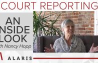 An Inside Look at Court Reporting with Nancy Hopp