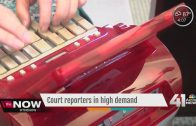 Court reporters in high demand