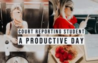 COURT REPORTING | A PRODUCTIVE DAY.