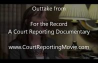 I'm a Court Reporter!