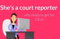 NCRA/NVRA Court Reporter approved CEUs online with Jeff Justice Seminars