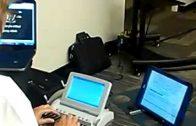 Our CART Provider/Realtime Captioner Hard at Work