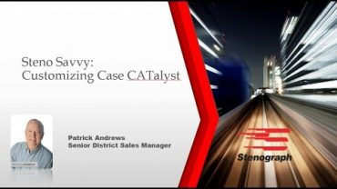 Steno Savvy: Customize Case CATalyst to your Preferences