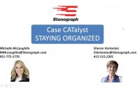 Steno Savvy: Take advantage of the CATalyst organizational features